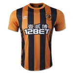 Hull City 14/15 Home Soccer Jersey