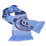 New York City FC Jacquard Scarf