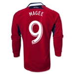 Authentic Chicago Fire 2013 MAGEE LS Primary Soccer Jersey