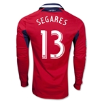 Chicago Fire 2013 SEGARES LS Authentic Primary Soccer Jersey
