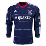 Chicago Fire 2014 Authentic LS Secondary Soccer Jersey