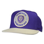 Orlando City SC Structured Adjustable Cap