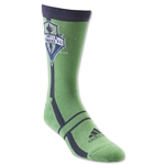 Seattle Sounders Crew Sock