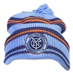 New York City FC Cuffed Pom Woolie