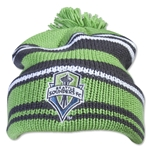 Seattle Sounders Cuffed Pom Woolie