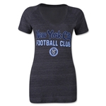 New York City FC Women's Script T-Shirt