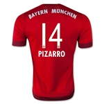 Bayern Munich 15/16 PIZZARO Home Soccer Jersey