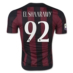 AC Milan 15/16 EL SHAARAWY Authentic Home Soccer Jersey