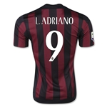 AC Milan 15/16 L. ADRIANO Home Soccer Jersey