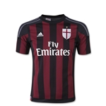 AC Milan 15/16 Youth Home Soccer Jersey