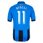 Montreal Impact 2014 NYASSI Authentic Third Soccer Jersey