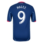 Chicago Fire 2013 MAGEE Authentic Secondary Soccer Jersey