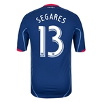Chicago Fire 2014 SEGARES Authentic Secondary Soccer Jersey