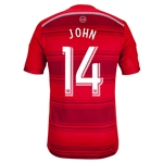 FC Dallas 2014 JOHN Authentic Primary Soccer Jersey