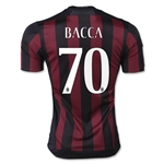 AC Milan 15/16 BACCA UCL Home Soccer Jersey