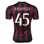 AC Milan 15/16 BALOTELLI UCL Home Soccer Jersey