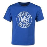 Chelsea FC The Blues Crest Youth SS T-Shirt