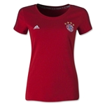 Bayern Munich Women's 3-Stripe T-Shirt