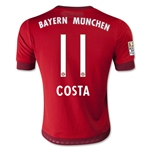 Bayern Munich 15/16 COSTA Youth Home Soccer Jersey