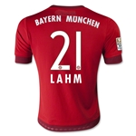 Bayern Munich 15/16 LAHM Youth Home Soccer Jersey