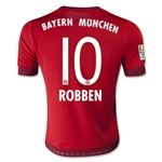 Bayern Munich 15/16 ROBBEN Youth Home Soccer Jersey
