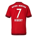 Bayern Munich 15/16 RIBERY Authentic Home Soccer Jersey
