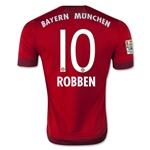 Bayern Munich 15/16 ROBBEN Authentic Home Soccer Jersey