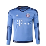Bayern Munich 15/16 Youth Home Goalkeeper Soccer Jersey
