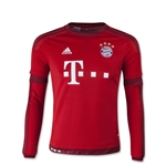 Bayern Munich 15/16 Youth LS Home Soccer Jersey