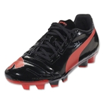 PUMA evoPOWER 4 FG Junior (Black/Grenadine/White)