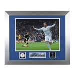Official UEFA Champions League Cristiano Ronaldo Signed, Framed Real Madrid Photo Juventus Goal
