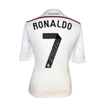 Cristiano Ronaldo Signed Real Madrid 14/15 Home Jersey