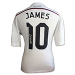 James Rodriguez Signed Real Madrid 14/15 Home Jersey