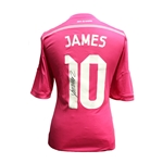 James Rodriguez Signed Real Madrid 14/15 Away Jersey
