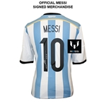 Leo Messi Signed Argentina 14/15 Jersey