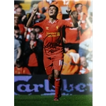Philippe Coutinho Signed Liverpool Photo QPR Goal