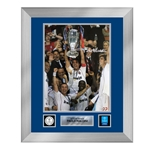 Official UEFA Champions League Paolo Maldini Signed and Framed AC Milan Photo 2007 Final
