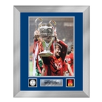 Official UEFA Champions League Rooney Signed, Framed Man United Photo 2008 Final