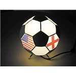 Five Flag Soccer Lamp
