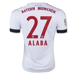 Bayern Munich 15/16 ALABA Away Soccer Jersey