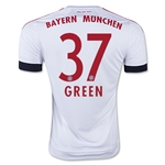 Bayern Munich 15/16 GREEN Away Soccer Jersey