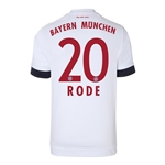 Bayern Munich 15/16 RODE Away Soccer Jersey