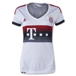 Bayern Munich 15/16 Women's Away Soccer Jersey