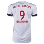 Bayern Munich 15/16 LEWANDOWSKI Women's Away Soccer Jersey
