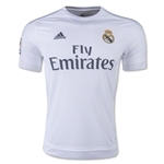 Real Madrid 15/16 Authentic Home Soccer Jersey