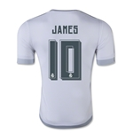 Real Madrid 15/16 JAMES Authentic Home Soccer Jersey