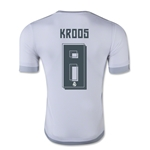 Real Madrid 15/16 KROOS Authentic Home Soccer Jersey