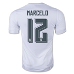 Real Madrid 15/16 MARCELO Authentic Home Soccer Jersey