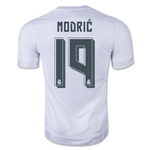 Real Madrid 15/16 MODRIC Authentic Home Soccer Jersey