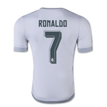 Real Madrid 15/16 RONALDO Authentic Home Soccer Jersey